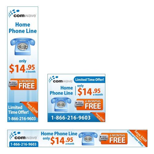 Comwave Telecom needs a new banner ad