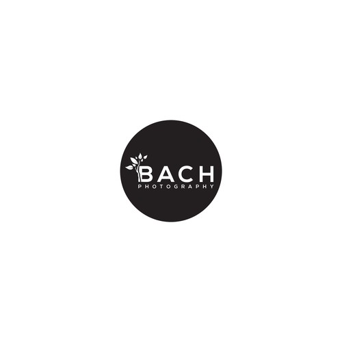 logo design Bach Photography