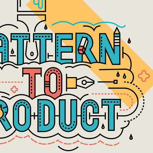 pattern to product 2