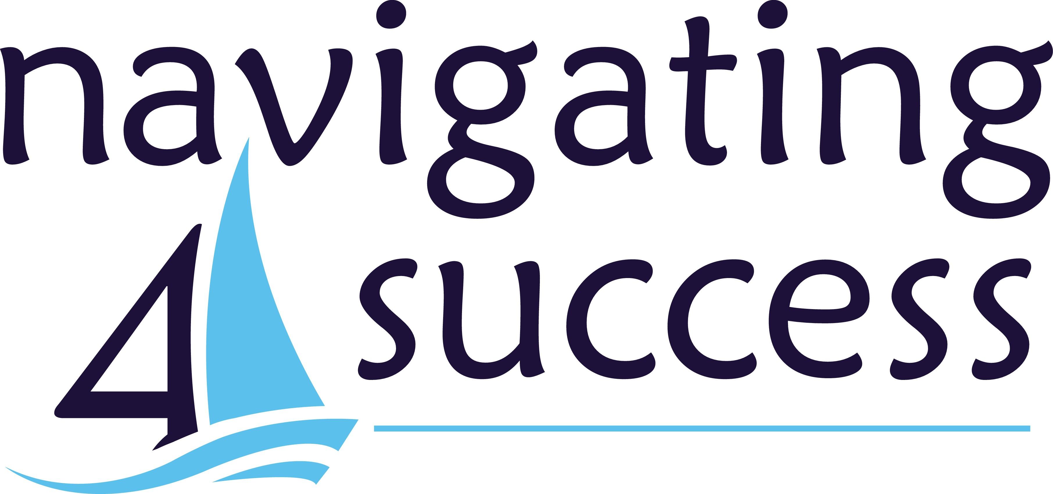 Set sail on a captivating logo for a new leadership blog, Navigating4Success