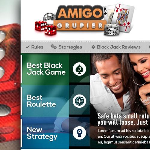 Web Design for Amigo Grupier Latam