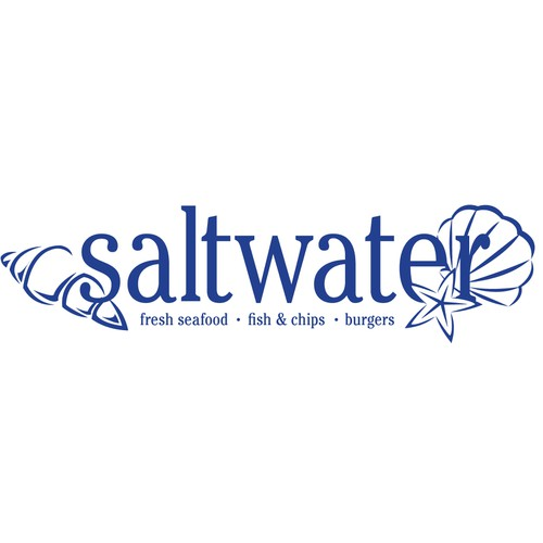 """saltwater"" fresh seafood outlet and up market fish and chips"