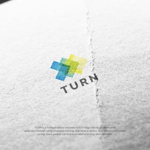 Logo for app helping tens of thousands overcome addiction globally