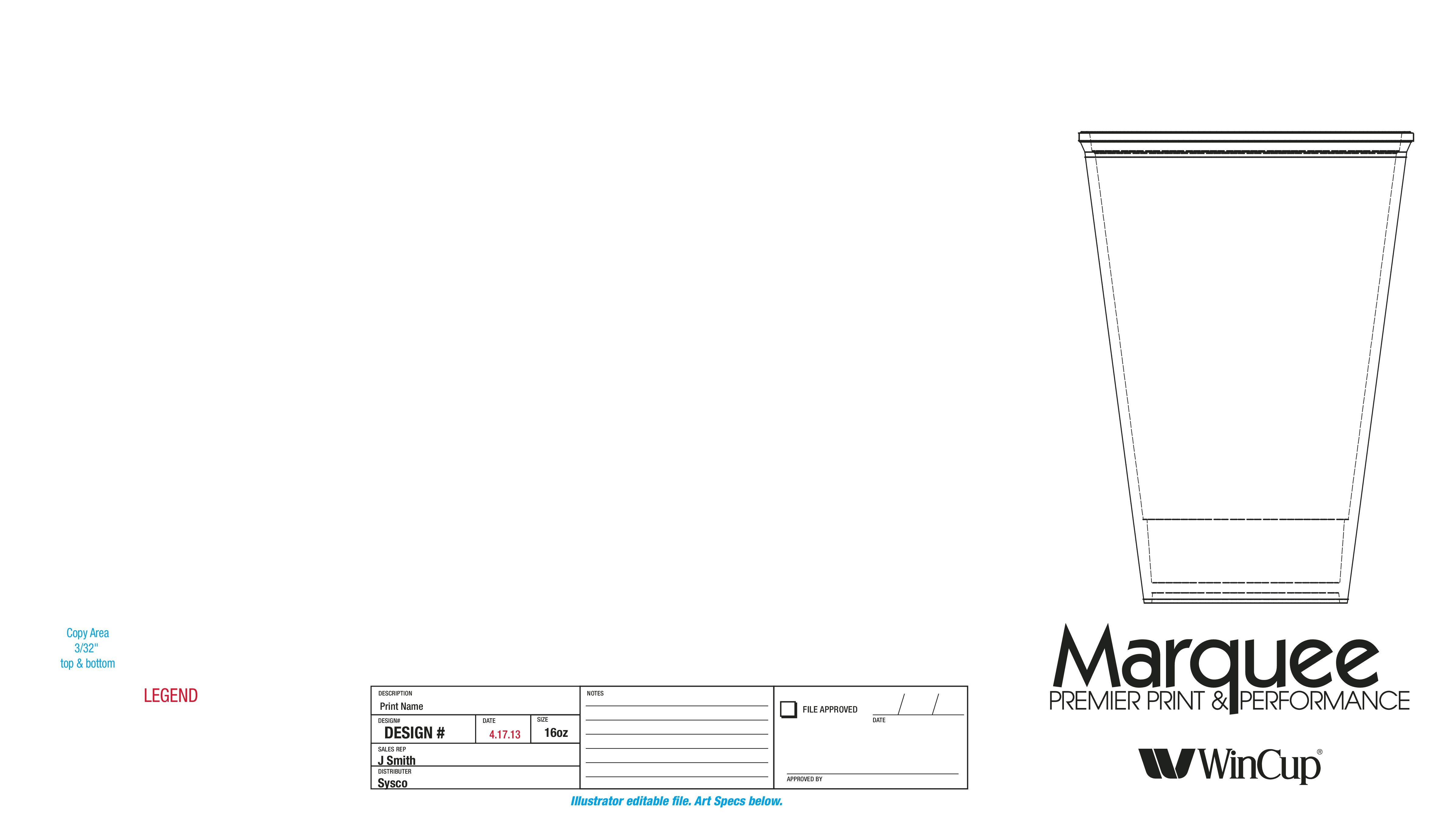 Help us create one of a kind packaging for our coffee cups