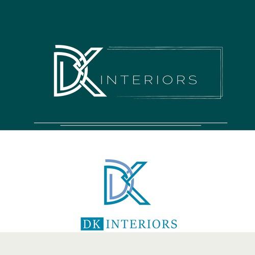 DK Interiors logo