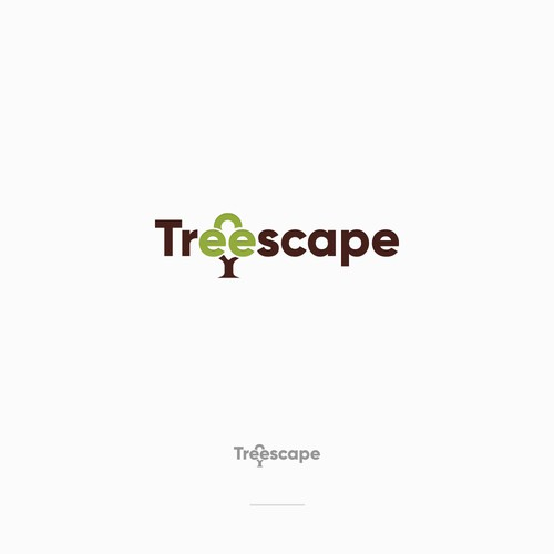 Treescape Logo Design