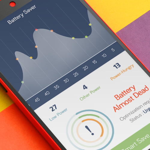 Battery Saver App Design
