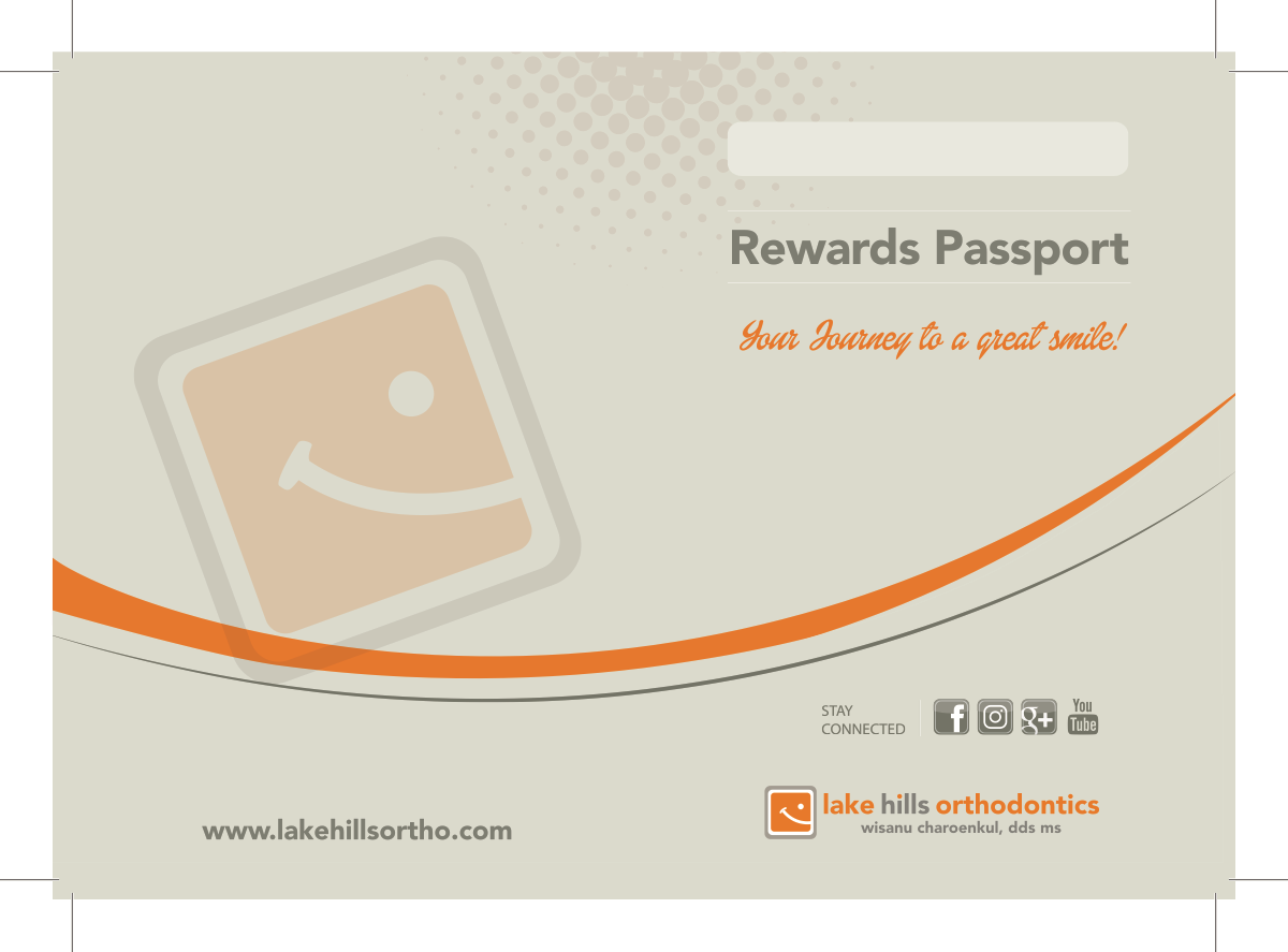 Alterations to existing Orthodontist Passport