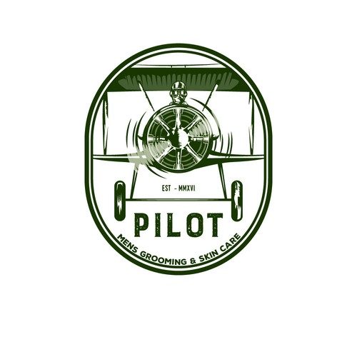 Vintage aviation logo