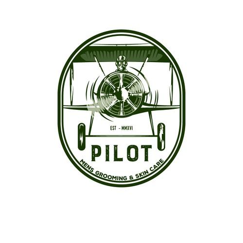 Vintage aviation logo