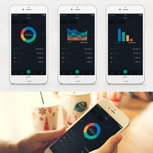 Bills iOS application