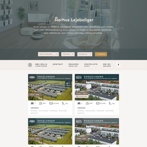 Web Design for Real Estate Giant