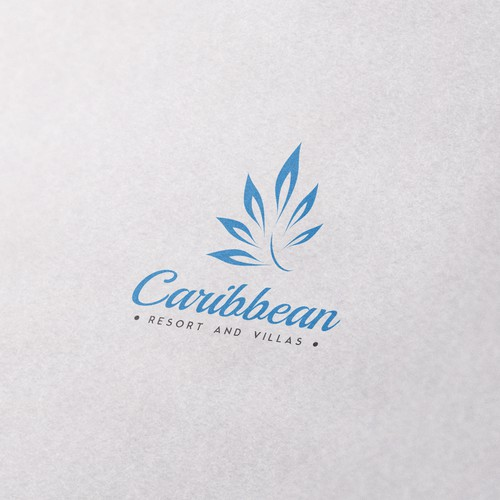 Logo for Caribbean resort