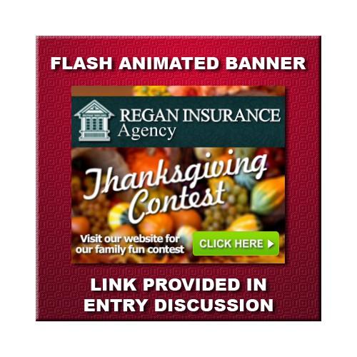 flash banner for Regan Insurance