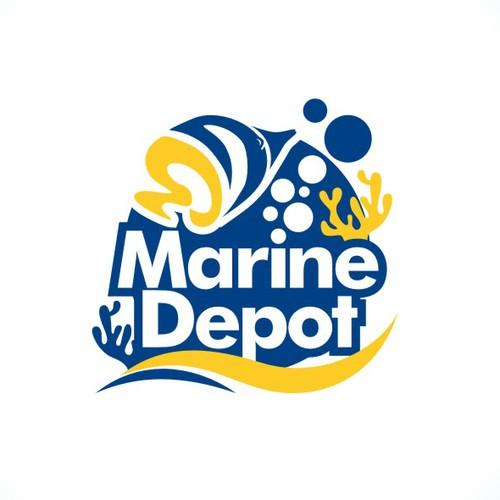 New Marine Depot's logo
