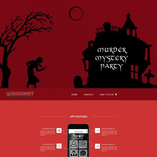 Murder Mystery App