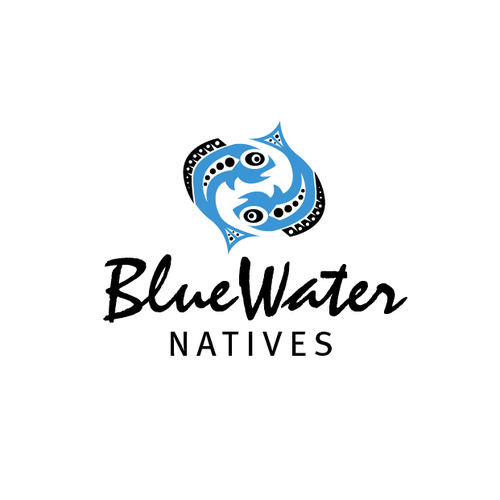 New logo wanted for BLUEWATER NATIVES, LLC