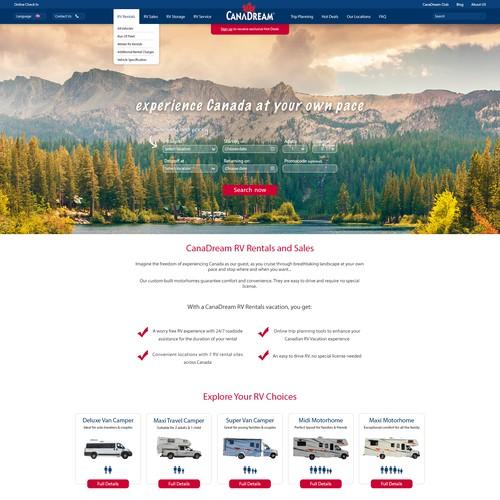 RV Travel website