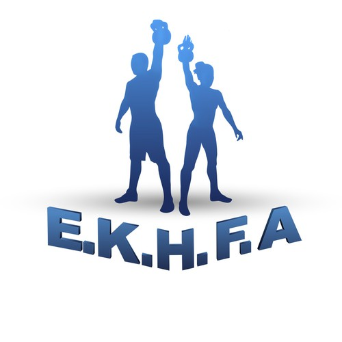 European Kettlebell Health & Fitness Logo Project