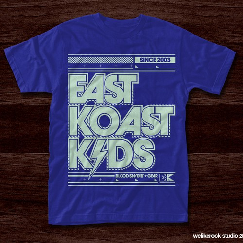 EKK Gear t-shirt design