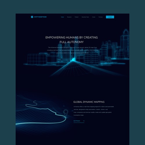 Autonomous Intelligence Company Homepage