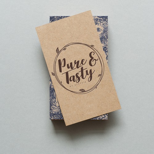 Logo Design for Pure & Tasty