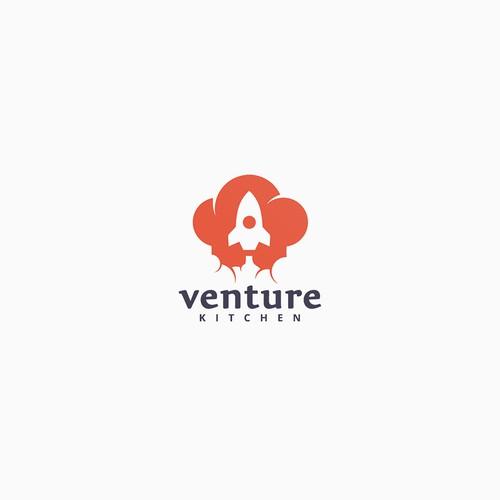 Logo Design for Venture Kitchen