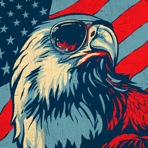 31 patriotic t-shirt designs to inspire you | 99designs