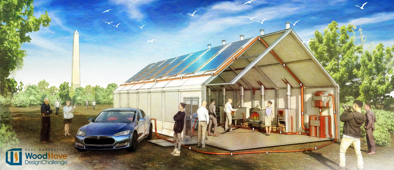 solar & electric car sketch