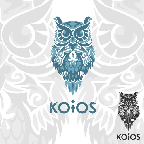 Detailed Logo concept for KOIOS