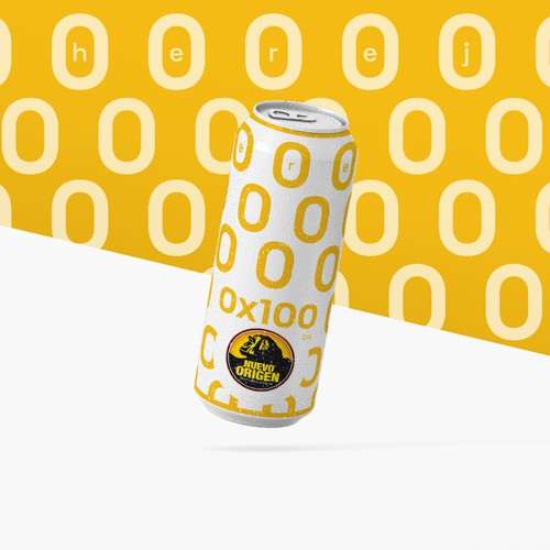 Alcohol Free Beer Can Design