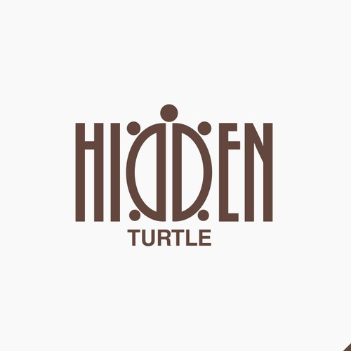 Hidden Turtle logo for private equity firm.