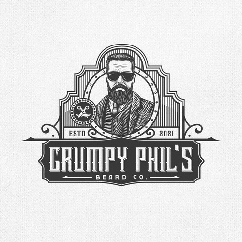 GRUMPY PHIL'S LABEL