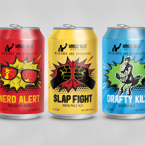 Craft beer cans design