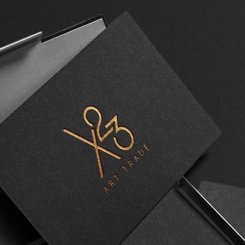 Logo concept for a fine art gallery | X23