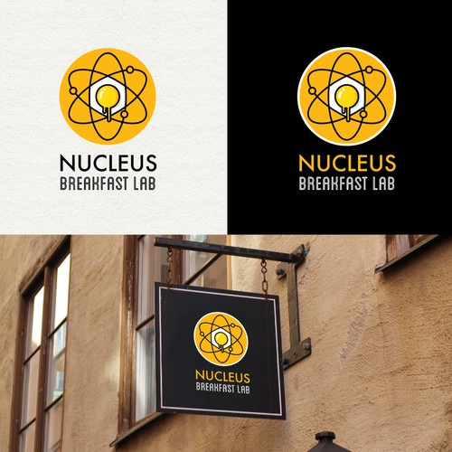 Creative logo for a modern breakfast restaurant