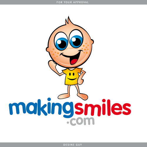 MakingSmiles.com Character and Logo Design