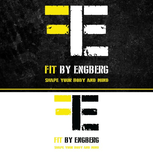 FIT BY ENGBERG Logo Design