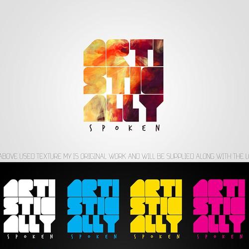 Artistically Spoken - Hip logo design..