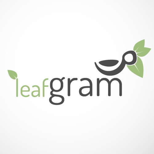 Create the next logo for Leafgram