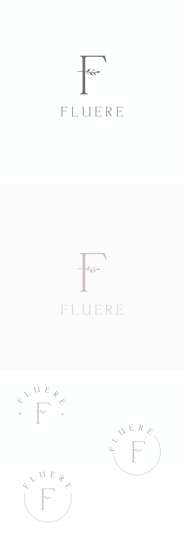 Stylish logo for Los Angeles female artist stationary brand