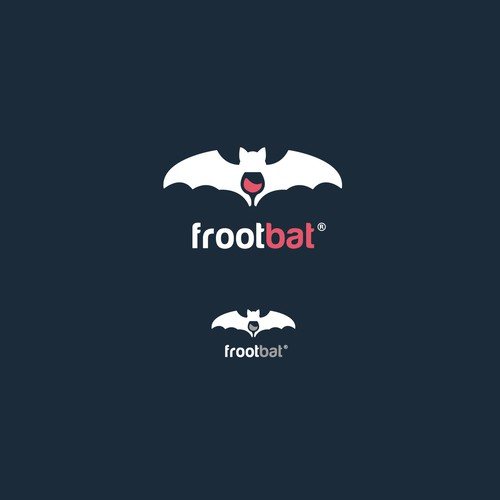 Bat - wine Logo Design