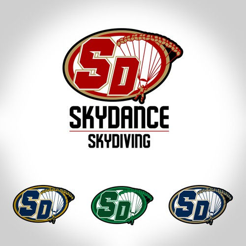 Skydiving logo