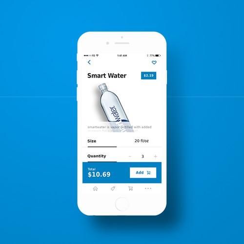 Water Ordering App