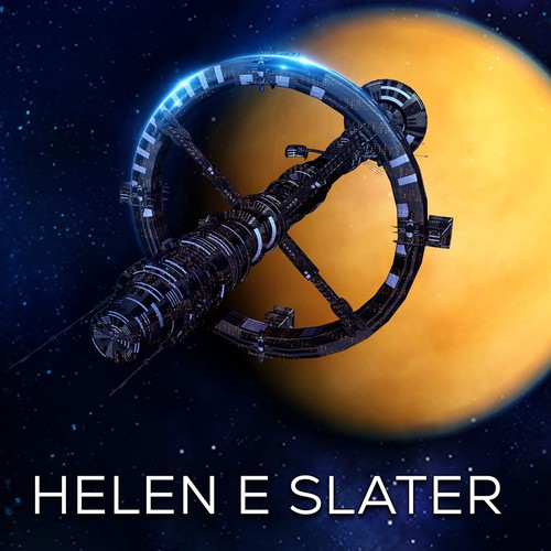 Book cover design - Titan by Helen E Slater