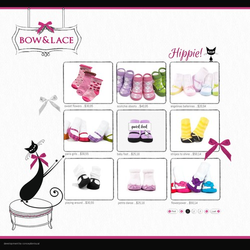 STORE BOW & LACE