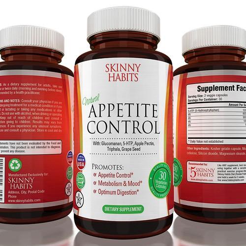 Skinny Habits Label