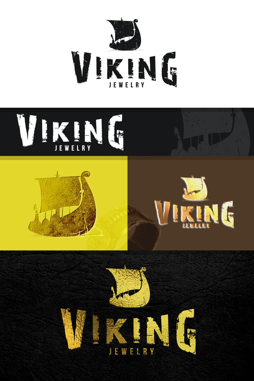 Create a logo for a high quality manly  viking jewelry company.