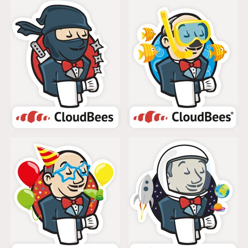 Create a new fun sticker for CloudBees!