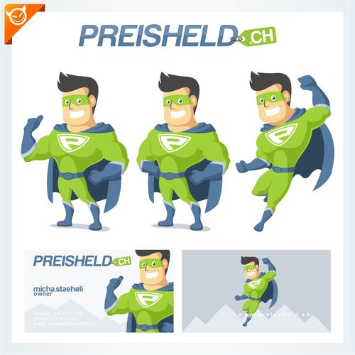super hero character design